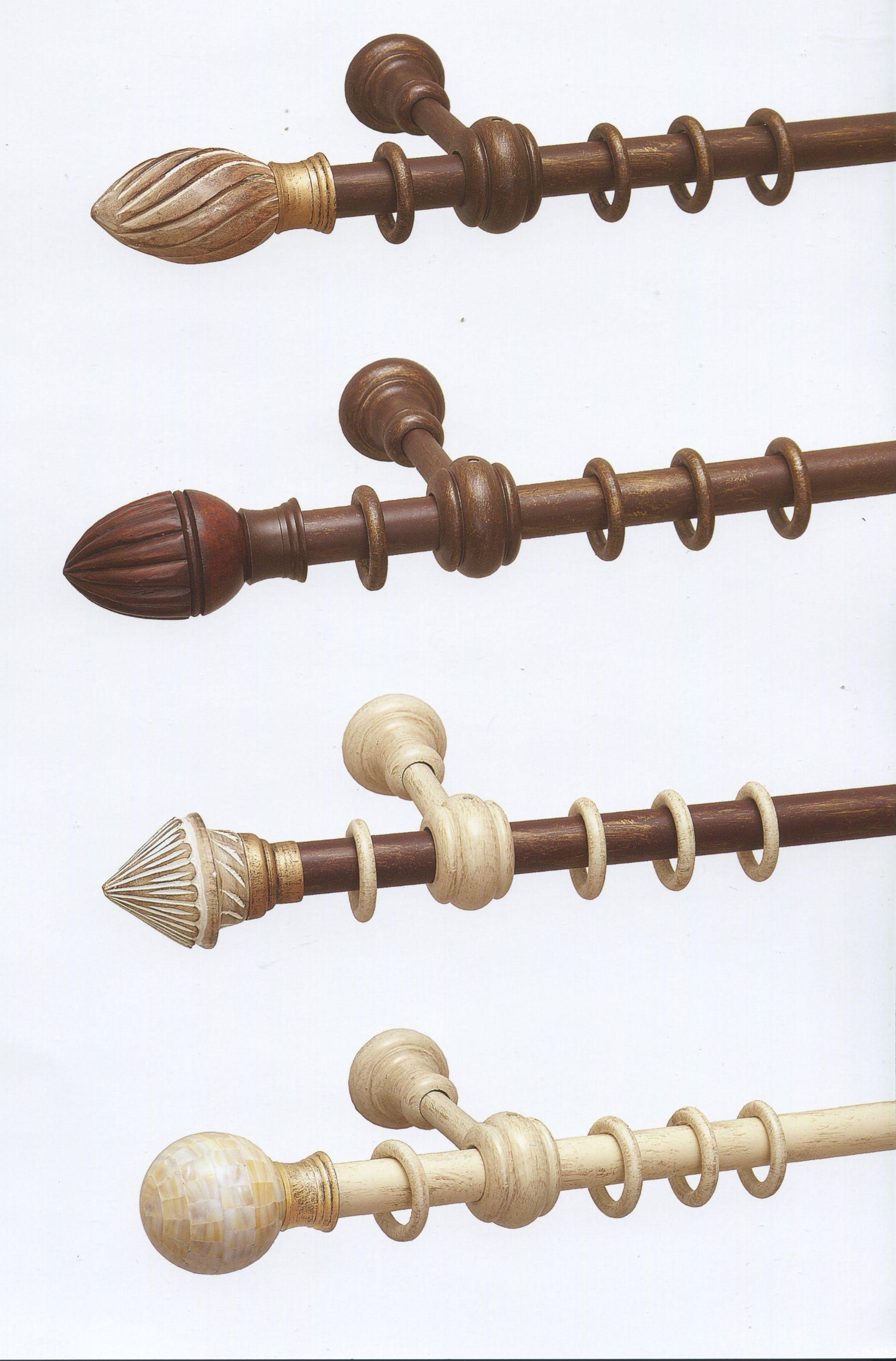 карнизы круглые деревянные